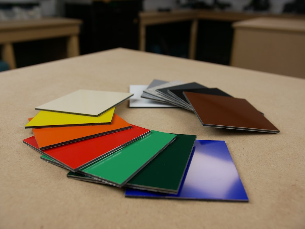 Dibond Farben