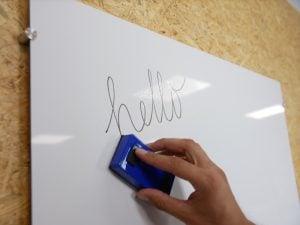 Whiteboard aus einer Alupanel platte