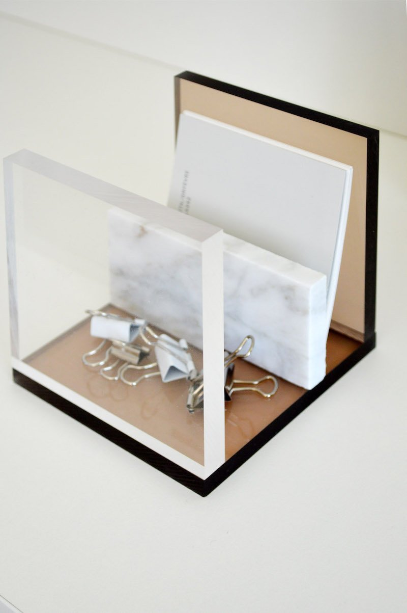 """DIY """"Schreibtischzubehör aus Acrylglas"""""""