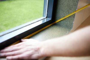 Doppelfenster messen