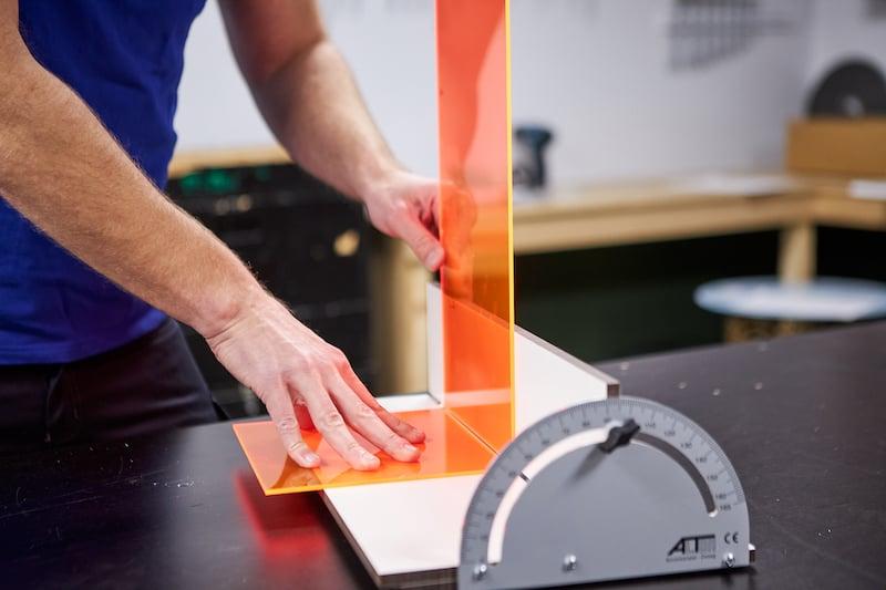 Biegevorrichtung acrylglas biegen