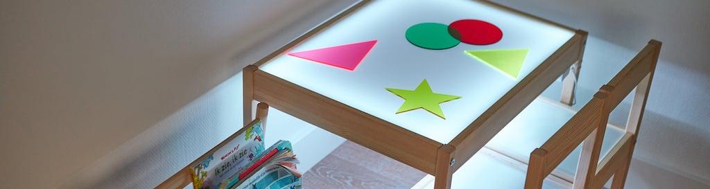 IKEA Hack Leuchttisch selber bauen