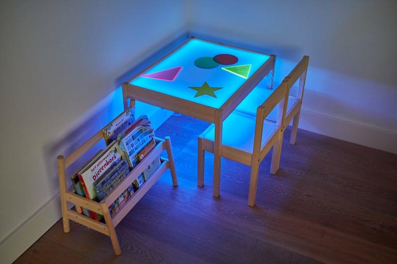 Leuchttisch selber bauen IKEA