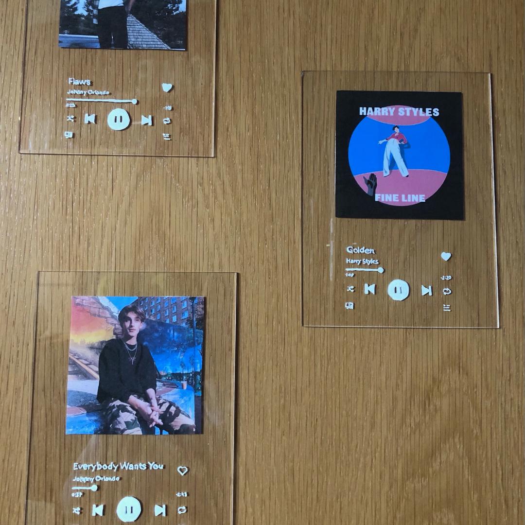 Spotify Acrylglas Cover