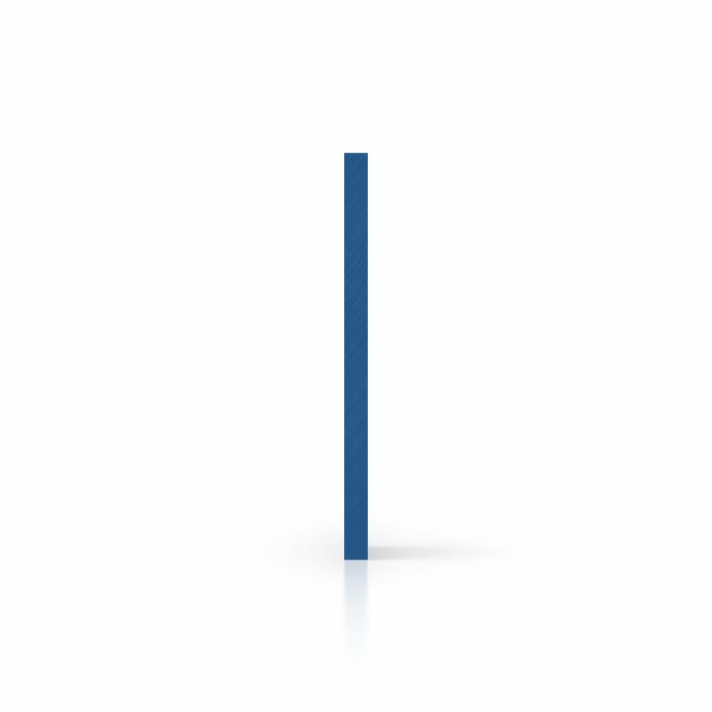 Buchstabenplatte blau seite