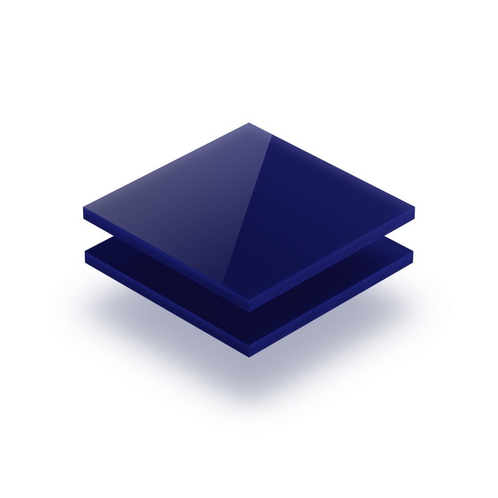 Buchstabenplatte mitternachtsblau 8mm