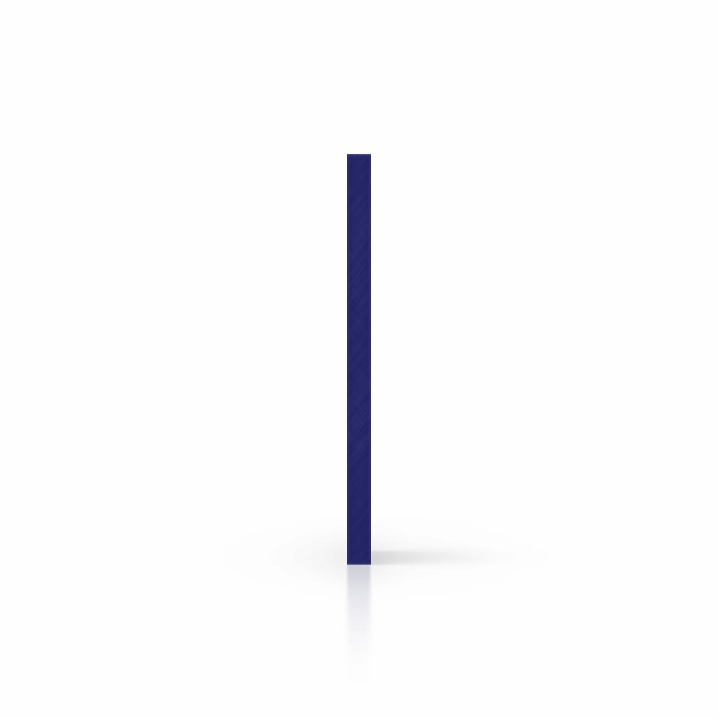 Buchstabenplatte mitternachtsblau seite