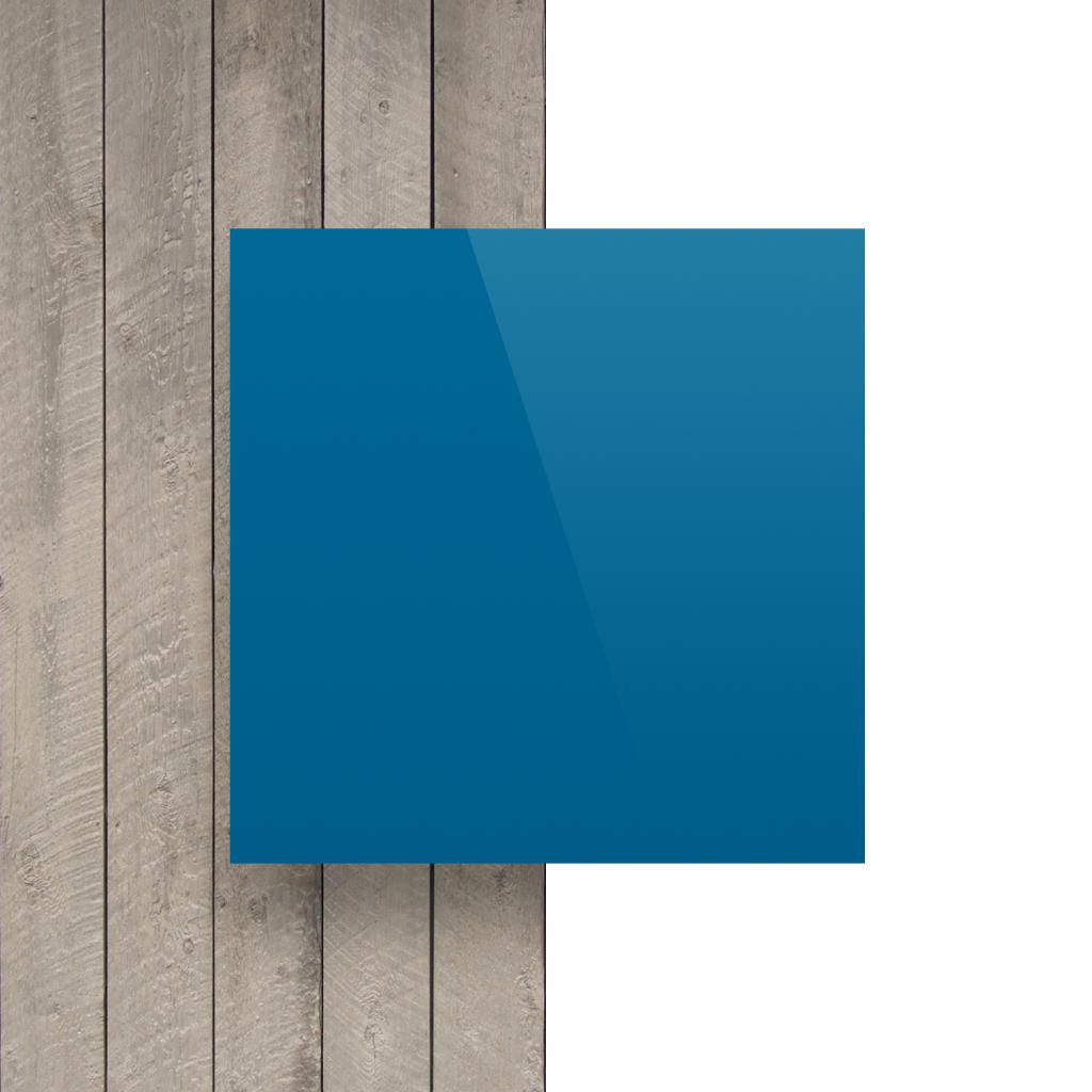 Buchstabenplatte verkehrsblau vorderseite