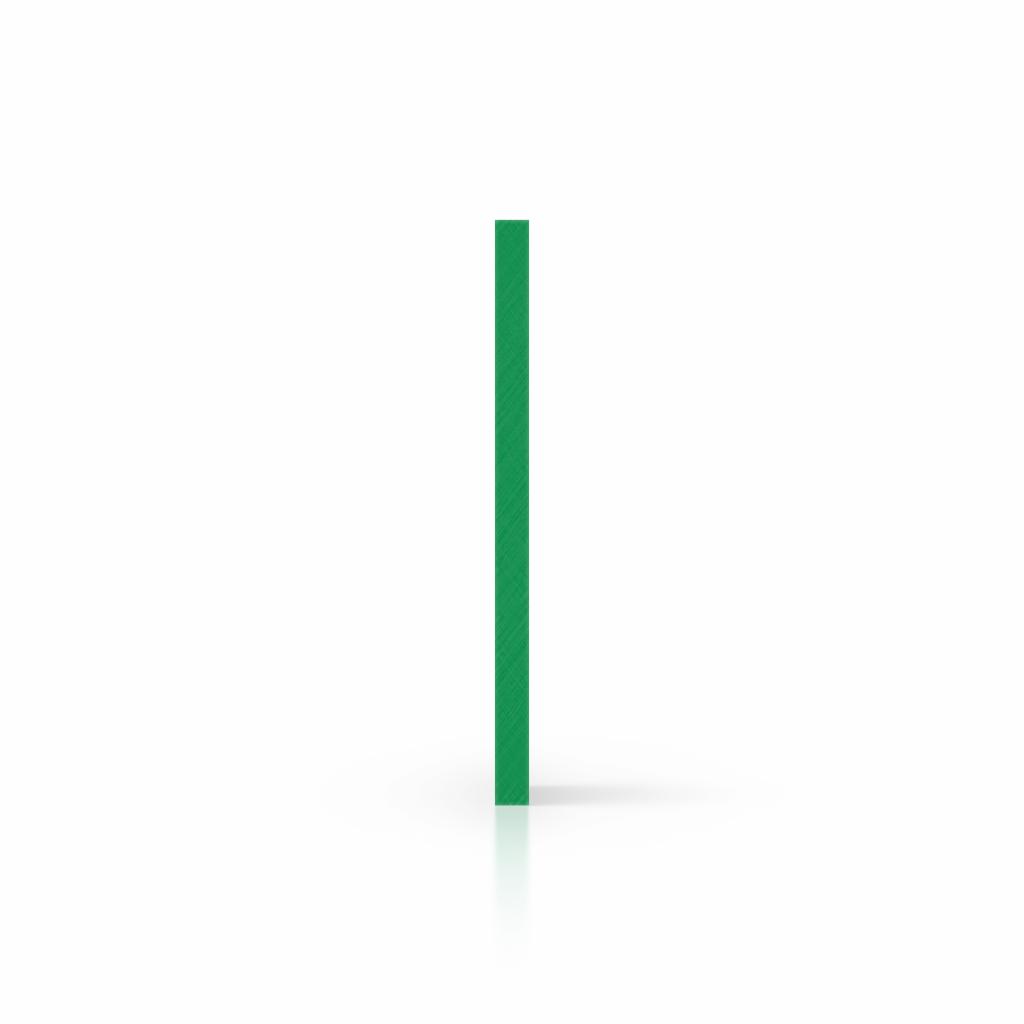 Seite Acrylglas Buchstabenplatte minzgruen