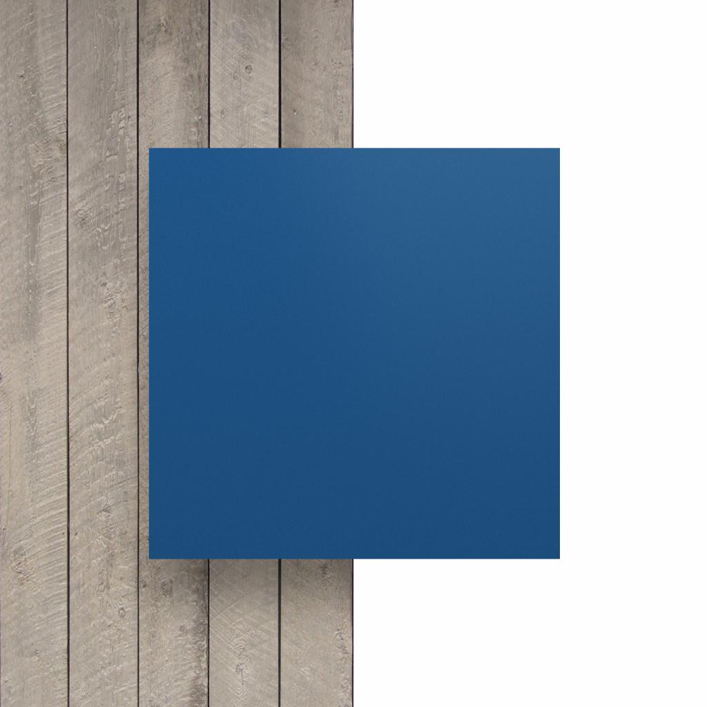 Vorseite matt Buchstabenplatte blau