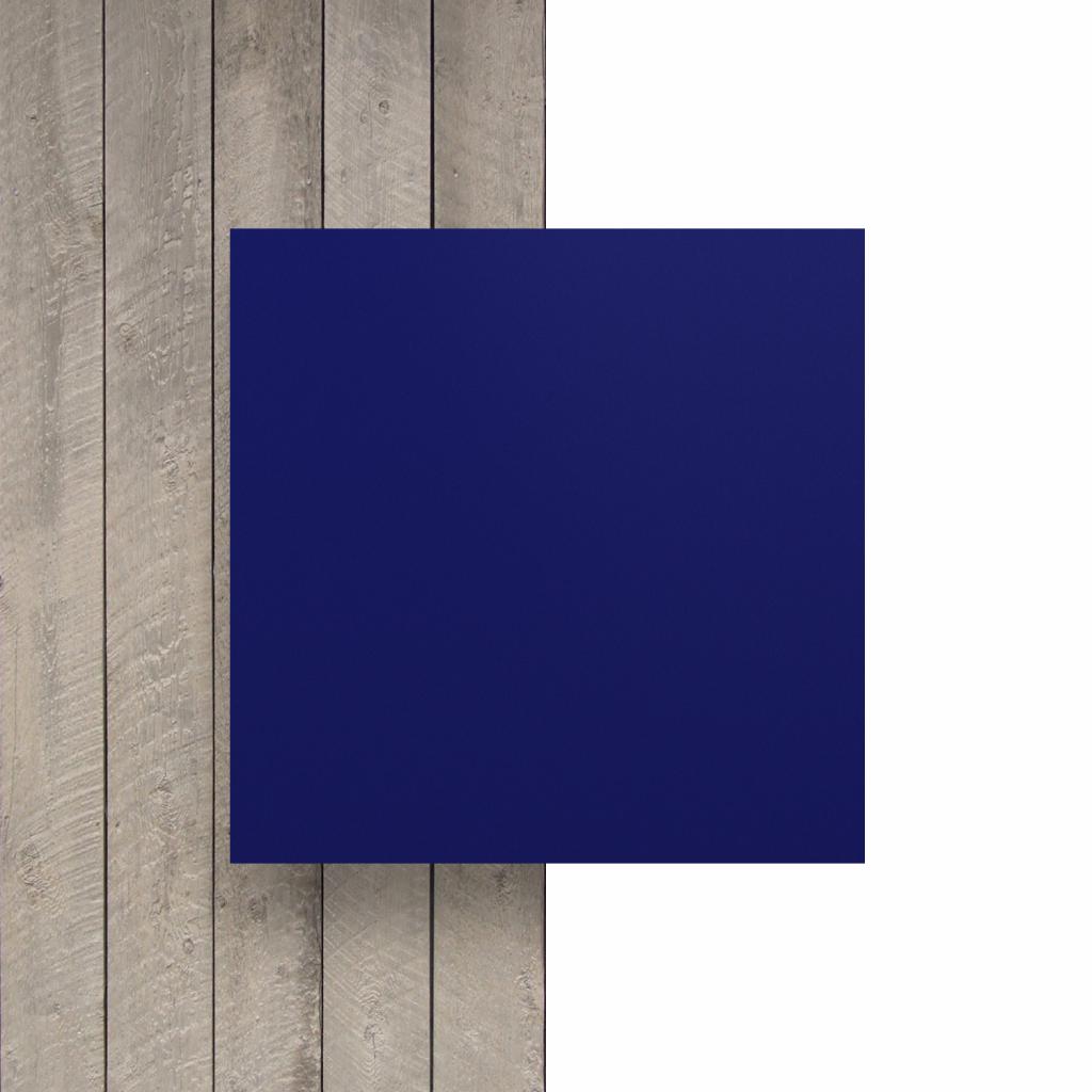 Vorseite matt Buchstabenplatte nachtblau