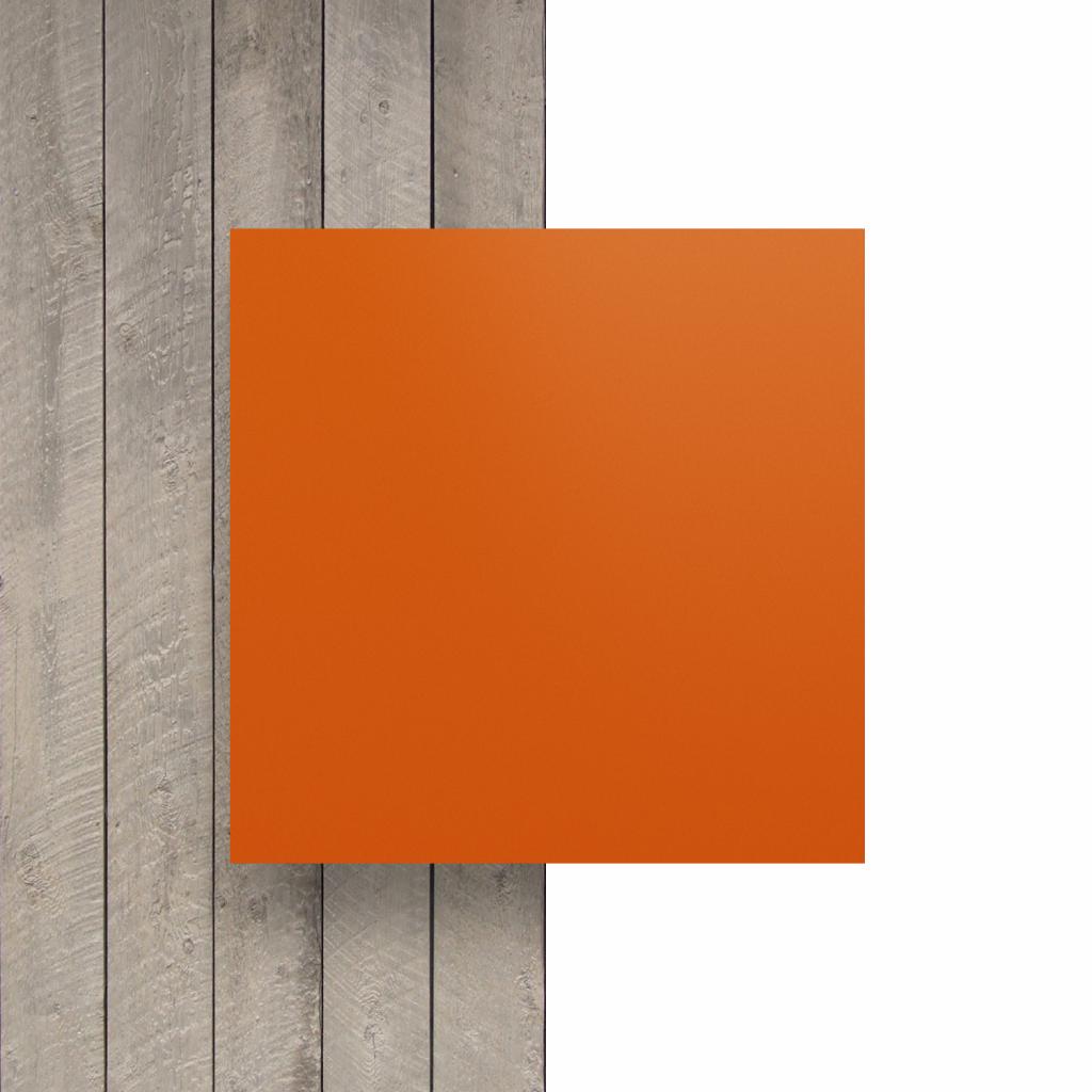 Vorseite matt Buchstabenplatte orange
