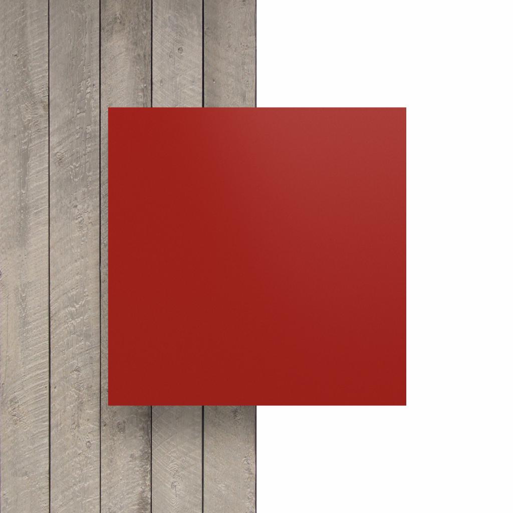 Vorseite matt Buchstabenplatte signalrot