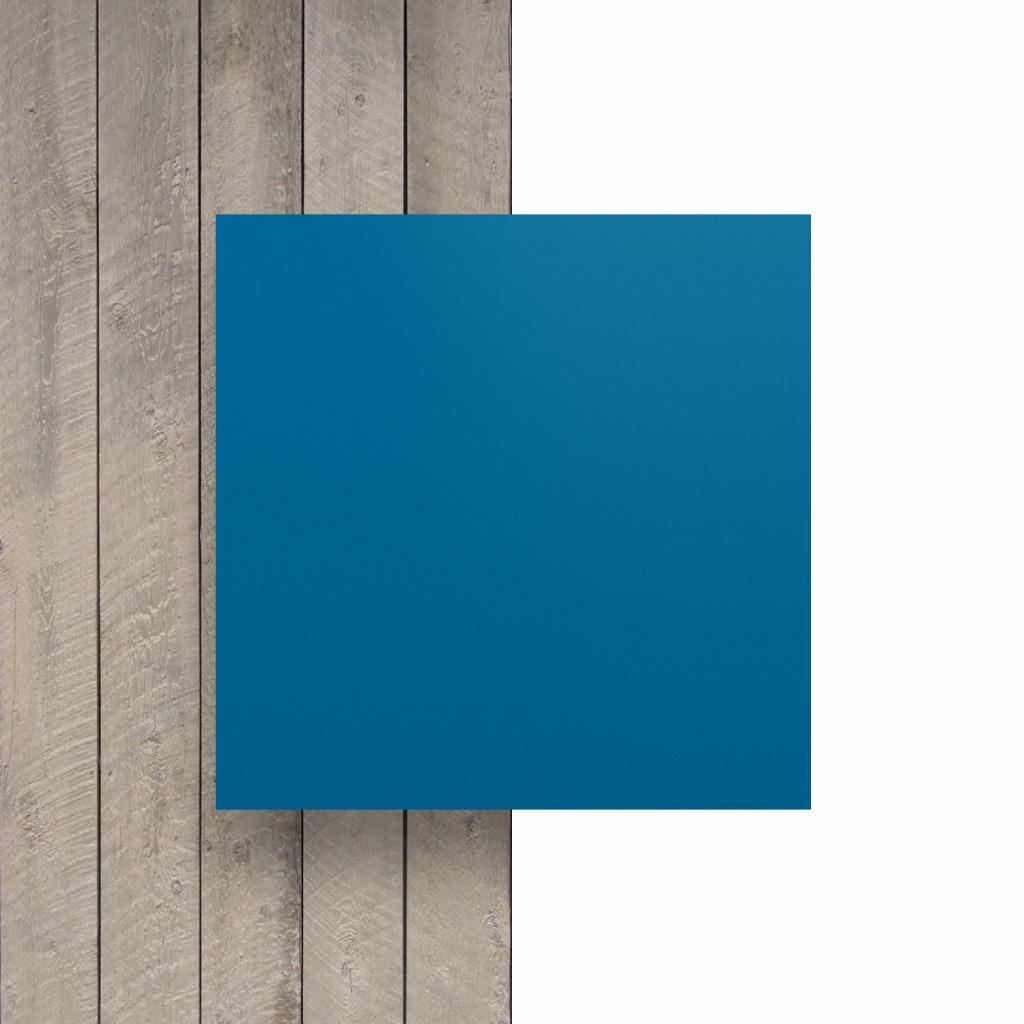 Vorseite matt Buchstabenplatte verkehrsblau