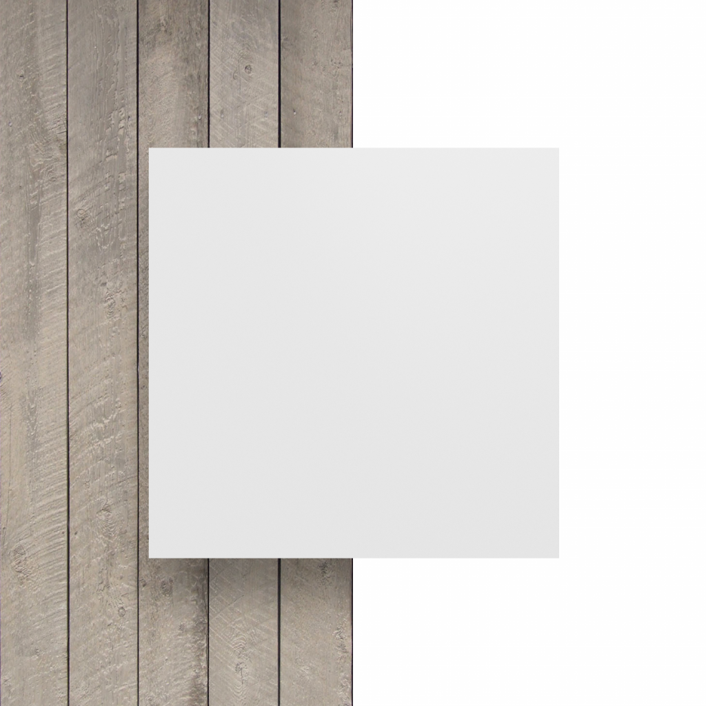Vorseite matt Buchstabenplatte weiss