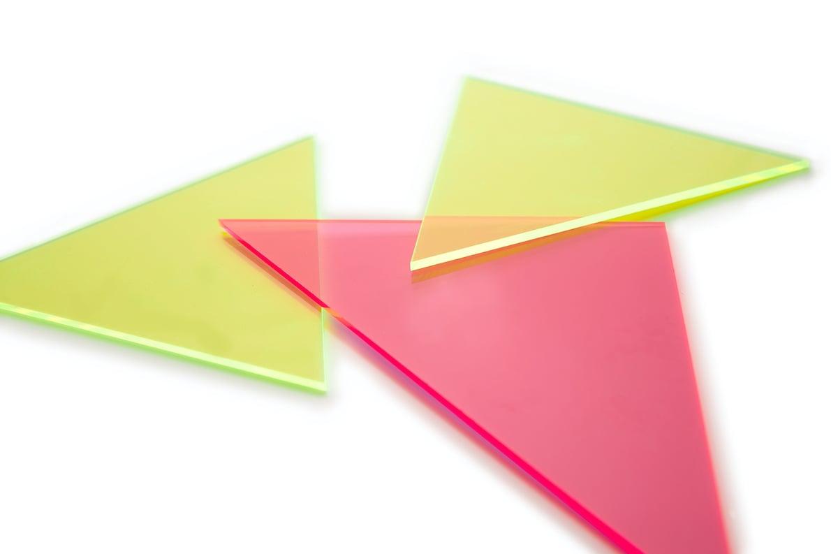 Kunststoff Form Dreieck
