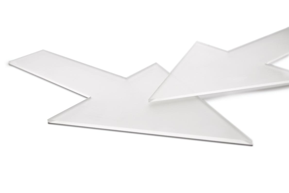 Kunststoff Form Pfeil