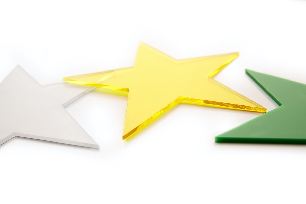 Kunststoff Form Stern