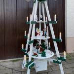Pyramide für die Weihnachtsdeko