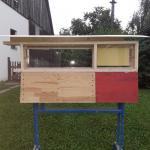 Bienenschaukasten mit Fenstern aus Acrylglas 18